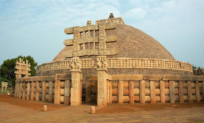 Great-Stupa-Sanchi-India