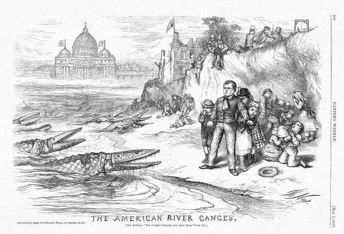 Nast-cartoon-American-River-Ganges