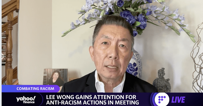 """""""It was time for me to say something needed that needed to be said,"""" Lee Wong told Yahoo Finance"""